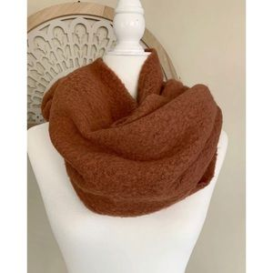 Anthropologie Soft Oversized Large Wrap scarf rust